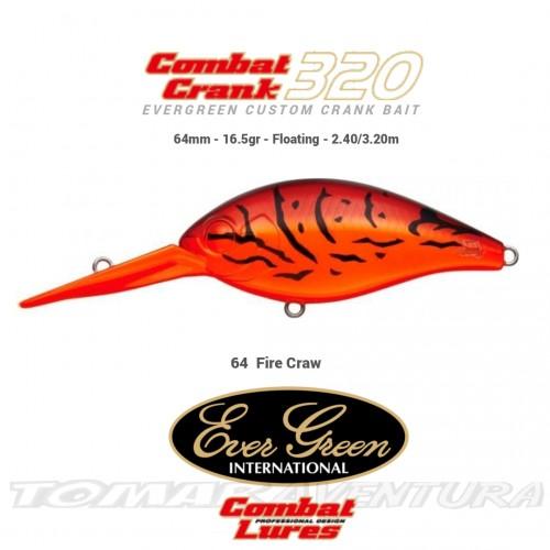 Amostra Ever Green Combat Crank 320