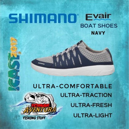 Shimano Evair Boat Shoes Navy