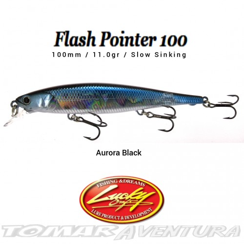 Amostra jerkbait Lucky Craft Flash Pointer100