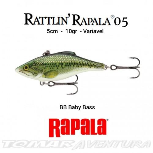 Amostra Rapala Rattlin 05