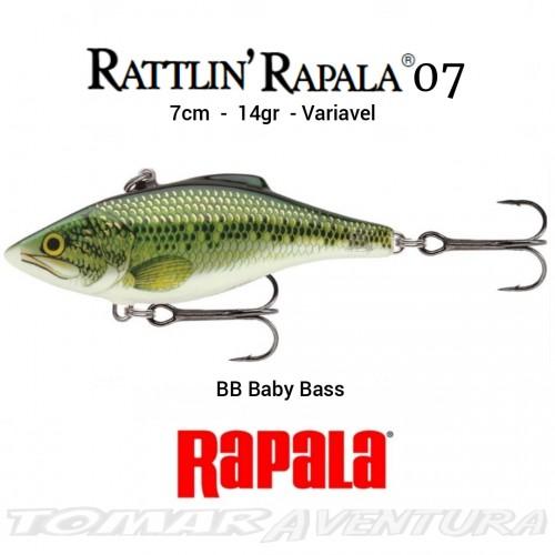 Amostra Rapala Rattlin 07