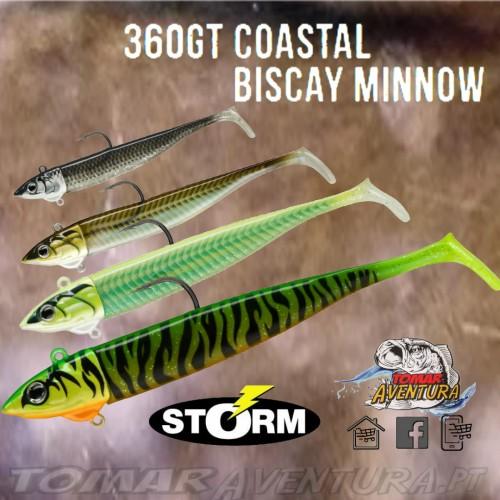 Amostra Storm 360GT Coastal Biscay Minnow 12cm