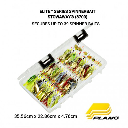 Plano ELITE™ SERIES SPINNERBAIT STOWAWAY® (3700)