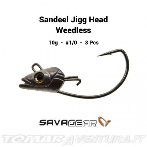 Savage Gear Sandeel Jigg Head Weedless
