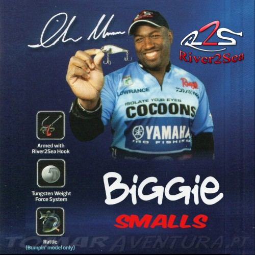 Amostra Crankbait River2Sea Biggie Smalls