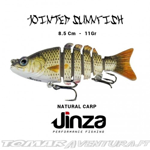Amostra Jinza Jointed Sunnfish Supernatural Series 85