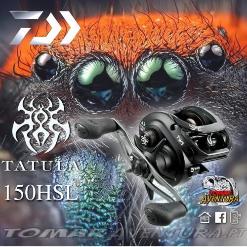 Carreto de baitcasting Daiwa Tatula 150HSL