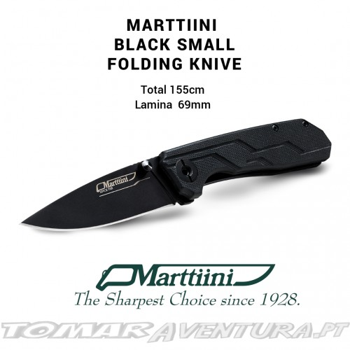 MARTTIIN BLACK SMALL FOLDING KNIFE