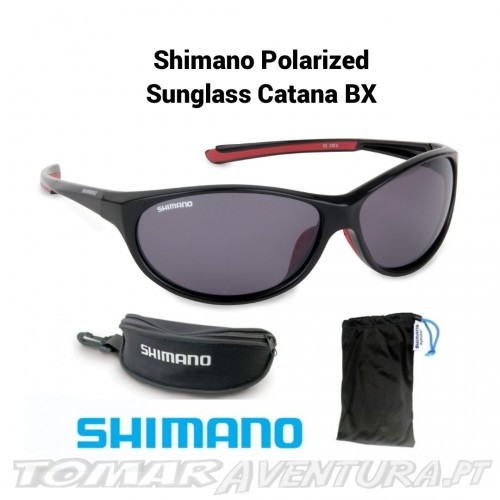 Oculos Shimano Polarized Sunglass Catana BX