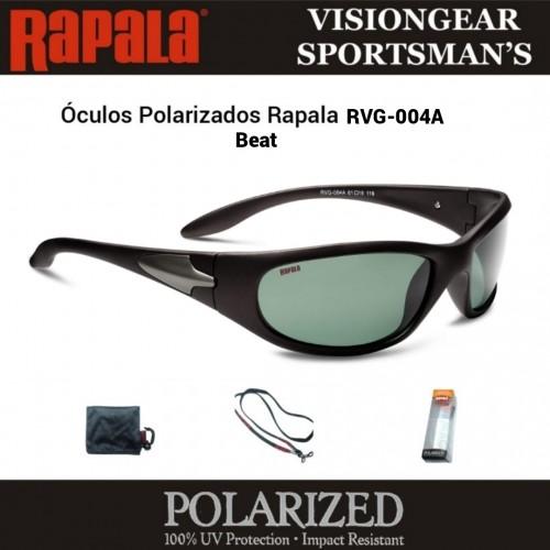 Óculos Polarizados Rapala Sportmans Beat RVG-004A