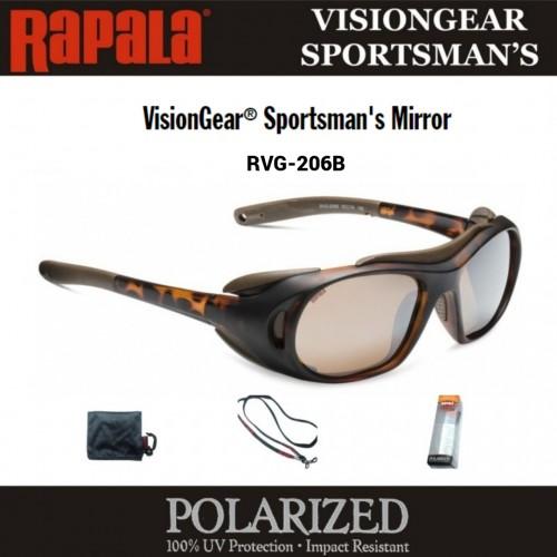 Oculos Rapala Visiongear Sportsman´s Mirror RVG-206B