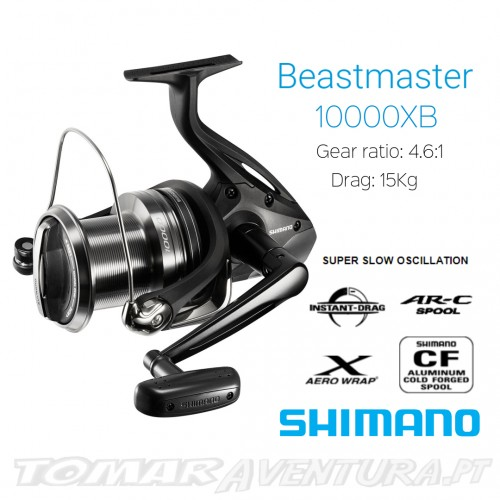 Carreto Shimano BeastMaster 10000XB