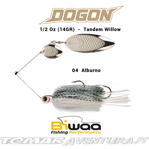 Spinnerbait Biwaa Dogon 1/2Oz