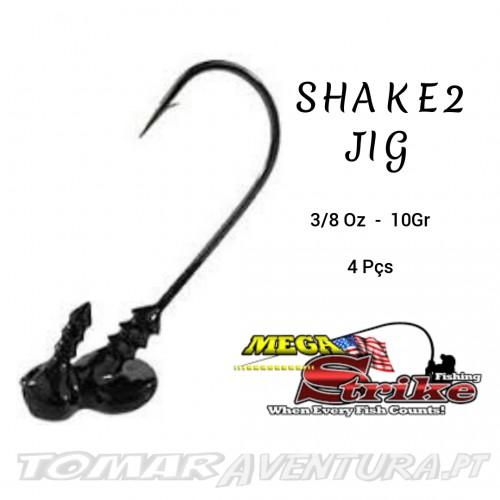 Megastrike Shake2 Shakey Head 3/8 Oz