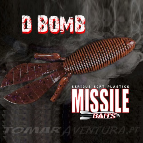 Amostra Missile Baits D Bomb 4""