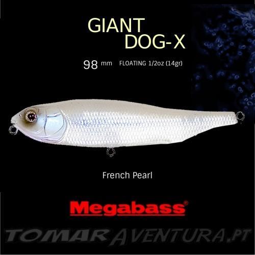 Amostra Megabass Giant Dog-X 98