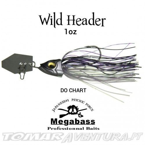 Chaterbait Megabass Wild Header 1oz
