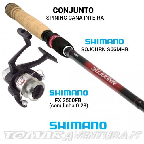 Conjunto Spining Shimano Sojourn/FX