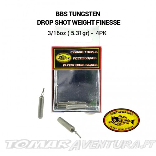 BBS Tungsten Drop Shot Weight
