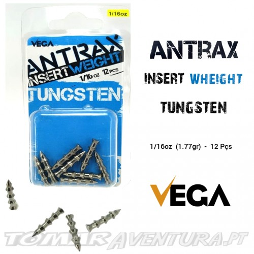 Vega Antrax Insert Weight Tungsten