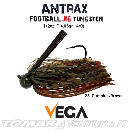 Vega Antrax Football Jig Tungsten 1/2oz