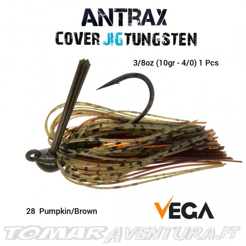Vega Antrax Cover Jig Tungsten 3/8oz