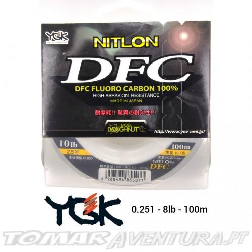 YGK Nitlon DFC 100% Fluorocarbon 100% 100m