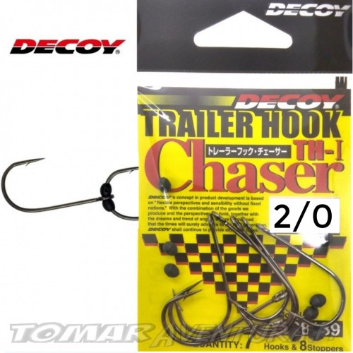 Anzois Decoy Trailer Hook TH-I Chaser