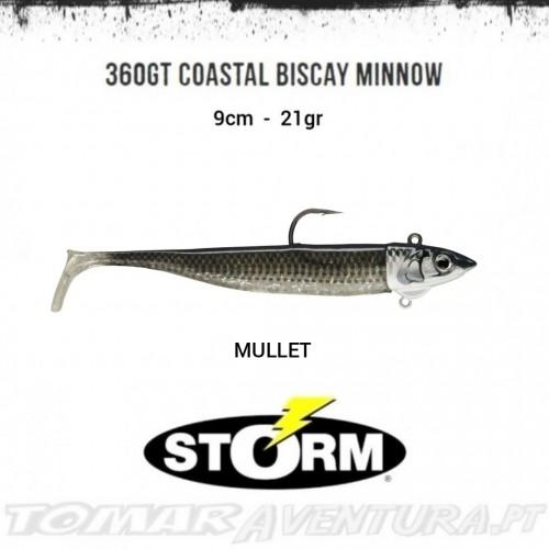 Amostra Storm 360GT Coastal Biscay Minnow 9cm