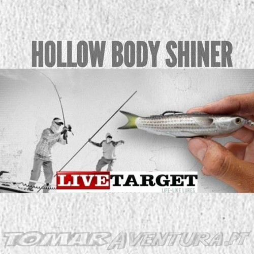 LiveTarget Hollow Body Shiner 90mm