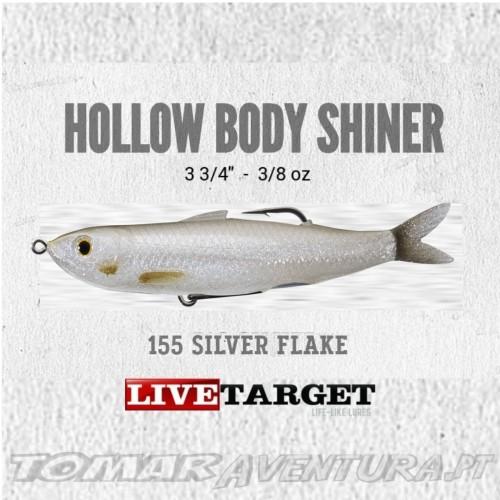 LiveTarget Hollow Body Shiner 90mm