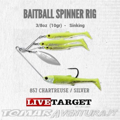 LiveTarget Baitball Spiner Rig 3/8oz