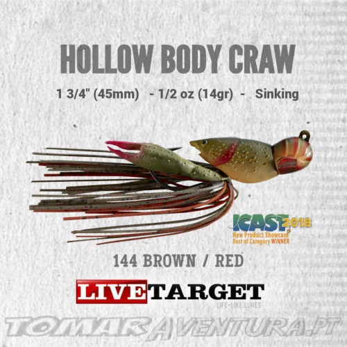 LiveTarget Hollow Body Craw