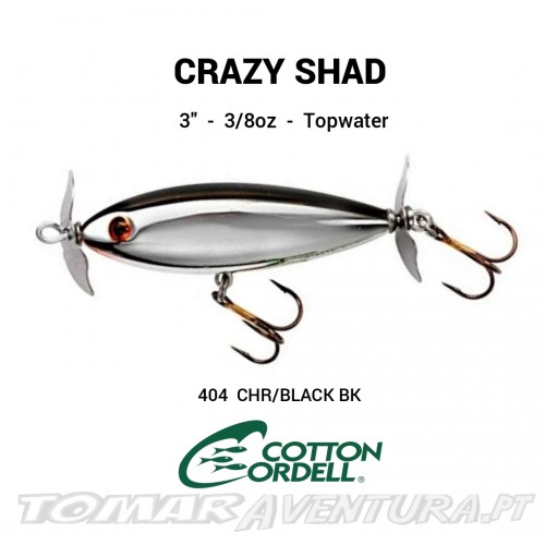 Cotton Cordell Crazy Shad Propbaits