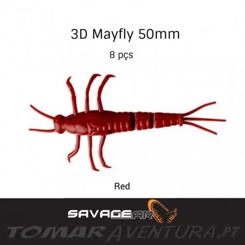 Amostra Savage Gear Mayfly 5cm