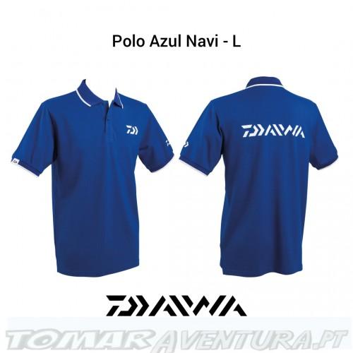 Daiwa Polo Azul Navy