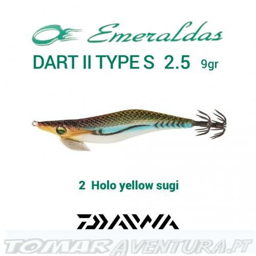 Daiwa Emeraldas Dart II S 2.5