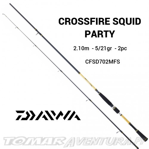 Cana Daiwa Crossfire Squid Party 2.10m