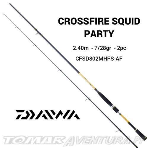 Cana Daiwa Crossfire Squid Party 2.40m