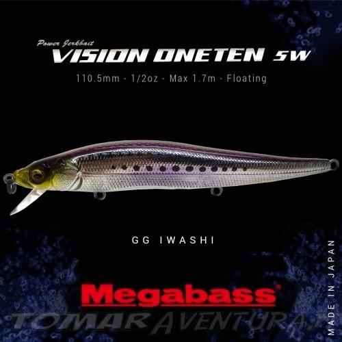 Jerkbait Megabass Vision Oneten SW 110.5