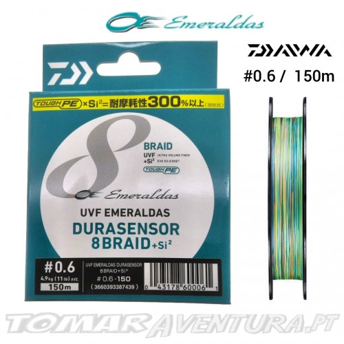Daiwa UVF Emeraldas Durasensor 8Braid+Si2
