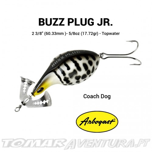 Arbogast Buzz Plug Jr.