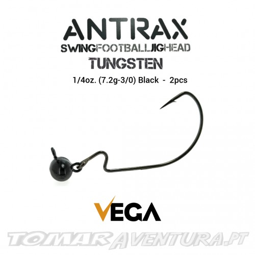 Vega Antrax Swing Football Jig Head