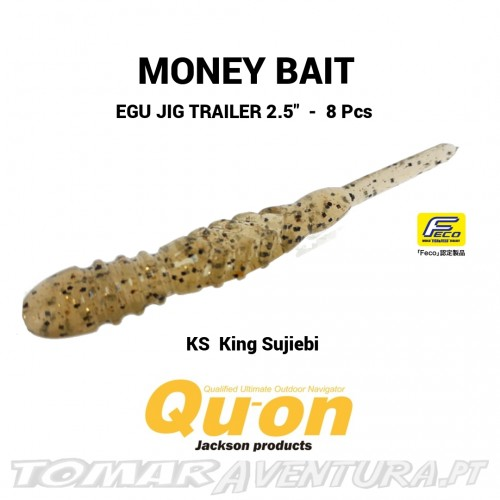 Qu-on Jackson Money Bait Egu Jig Trailer 2.5""