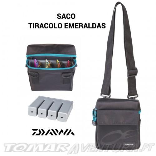 Daiwa Saco tiracolo Emeraldas