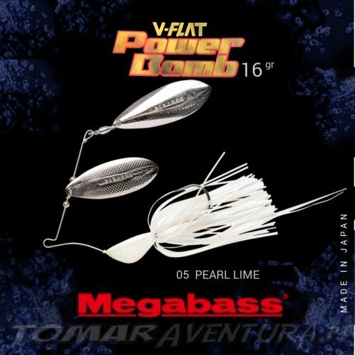 Spinnerbait Megabass V-Flat Power Bomb 16gr