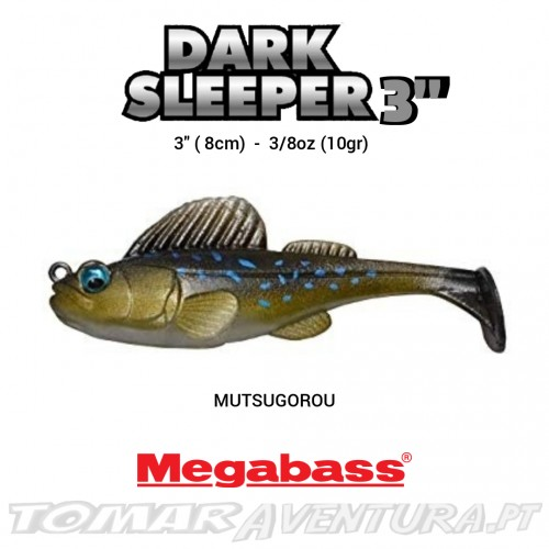 Megabass Dark Sleeper 3""