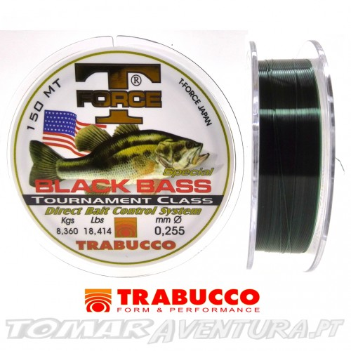Trabuco T Force Black Bass