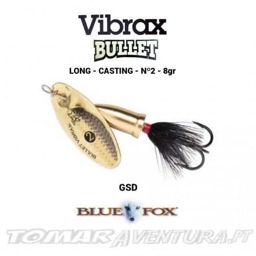 Vibrax Bullet Fly nº2 - 8gr