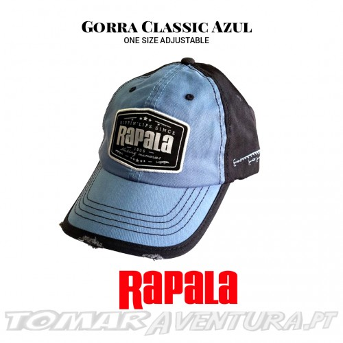 Chapeu Rapala Gorra Classic Azul